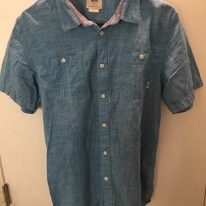 Men's vans short sleeve shirt